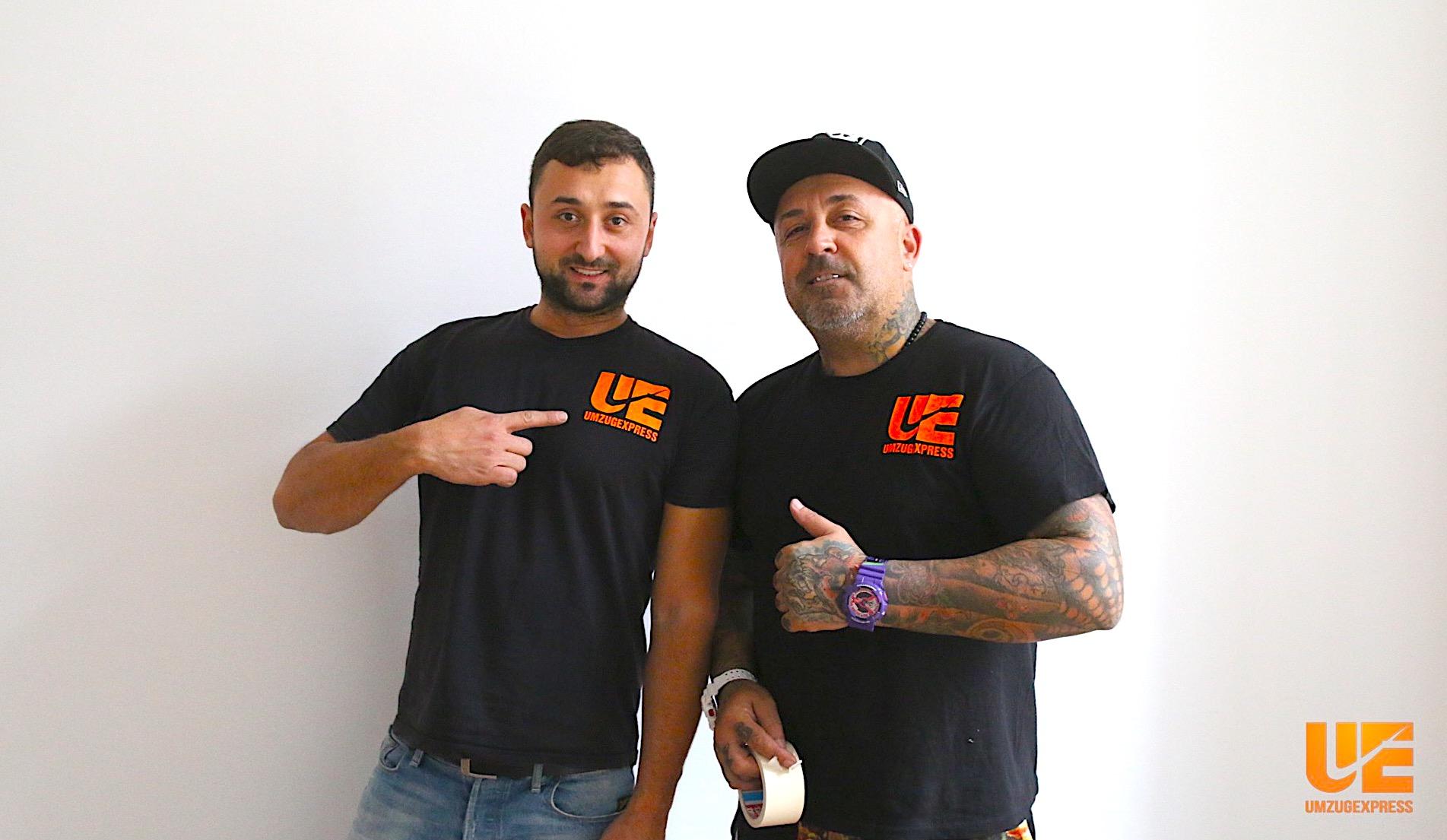 Umzugsexpress Team: Vanko und Bruno