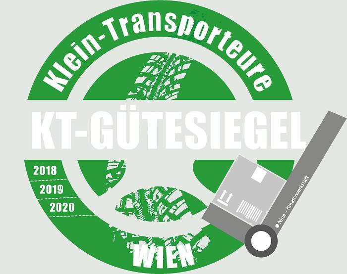 Wiener-Kleintransporteur Gütesiegel der WKO